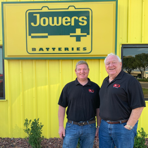 Jeremy and Gerlald Jowers, owners of Jowers Batteries
